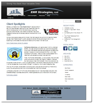 EMR Strategies Design 2012