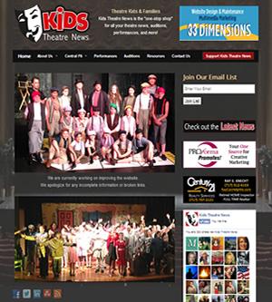 Kids Theatre News 2014 design