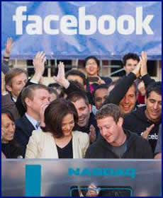 Facebook public launch