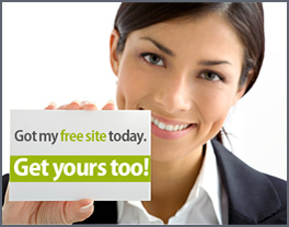 Free Website - not!
