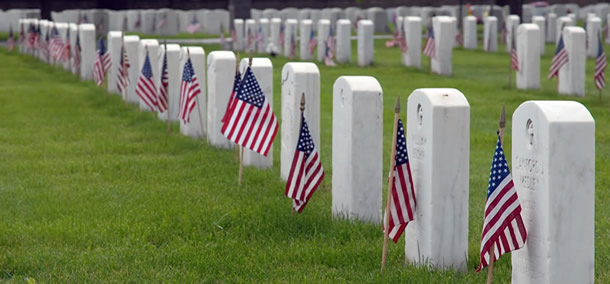 Memorial Day gravesites