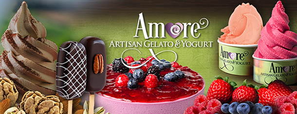 Amore Artisan Gelato products