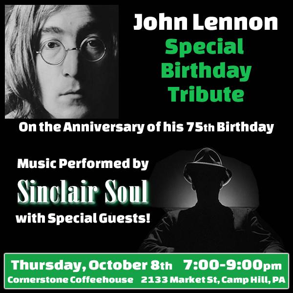 John Lennon birthday tribute show