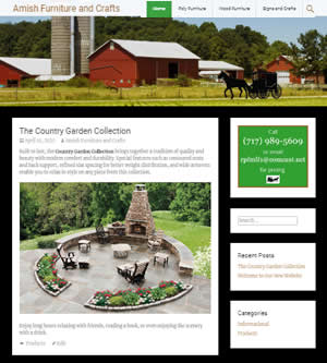 Amish Furniture and Crafts
