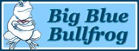 Big Blue Bullfrog