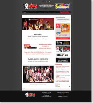 Kids Theatre News 2014 design