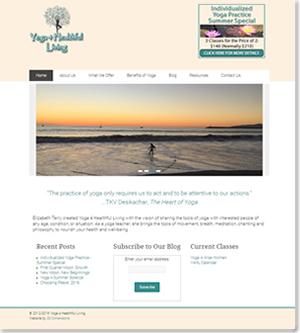 Yoga 4 Healthful Living design